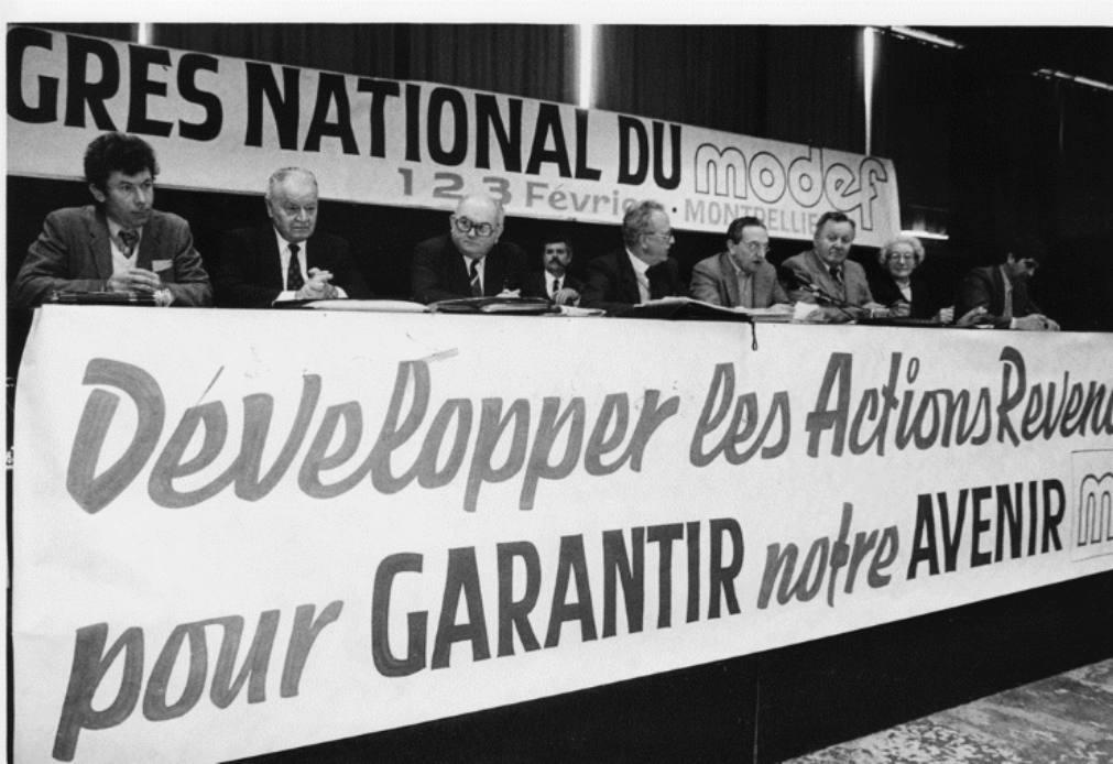 7e congres du MODEF national