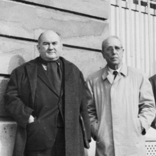 Raymond MINEAU et Alfred NEGRE